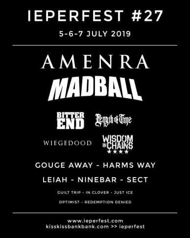 Madball, Amen Ra, Bitter End, Length Of Time, Wisdom In Chains, Harms Way, Ninebar & more
