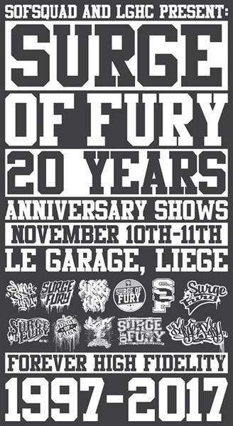 Surge Of Fury 20 Year Anniversary Show