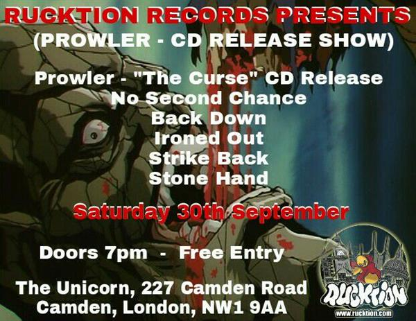 Rucktion hardcore night
